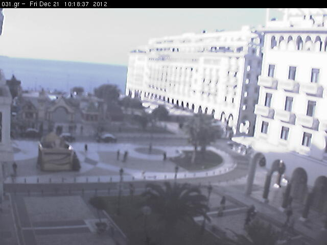 Thessaloniki webcam - Thessaloniki Aristotles Square webcam, Macedonia, Thessaloniki